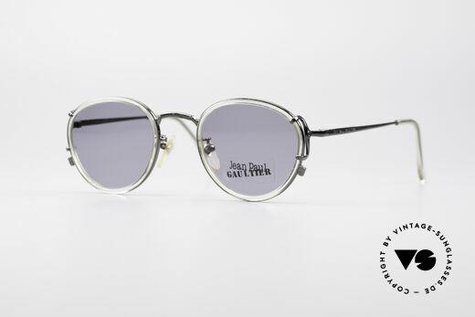 Jean Paul Gaultier 55-3271 Round 90's Designer Shades Details