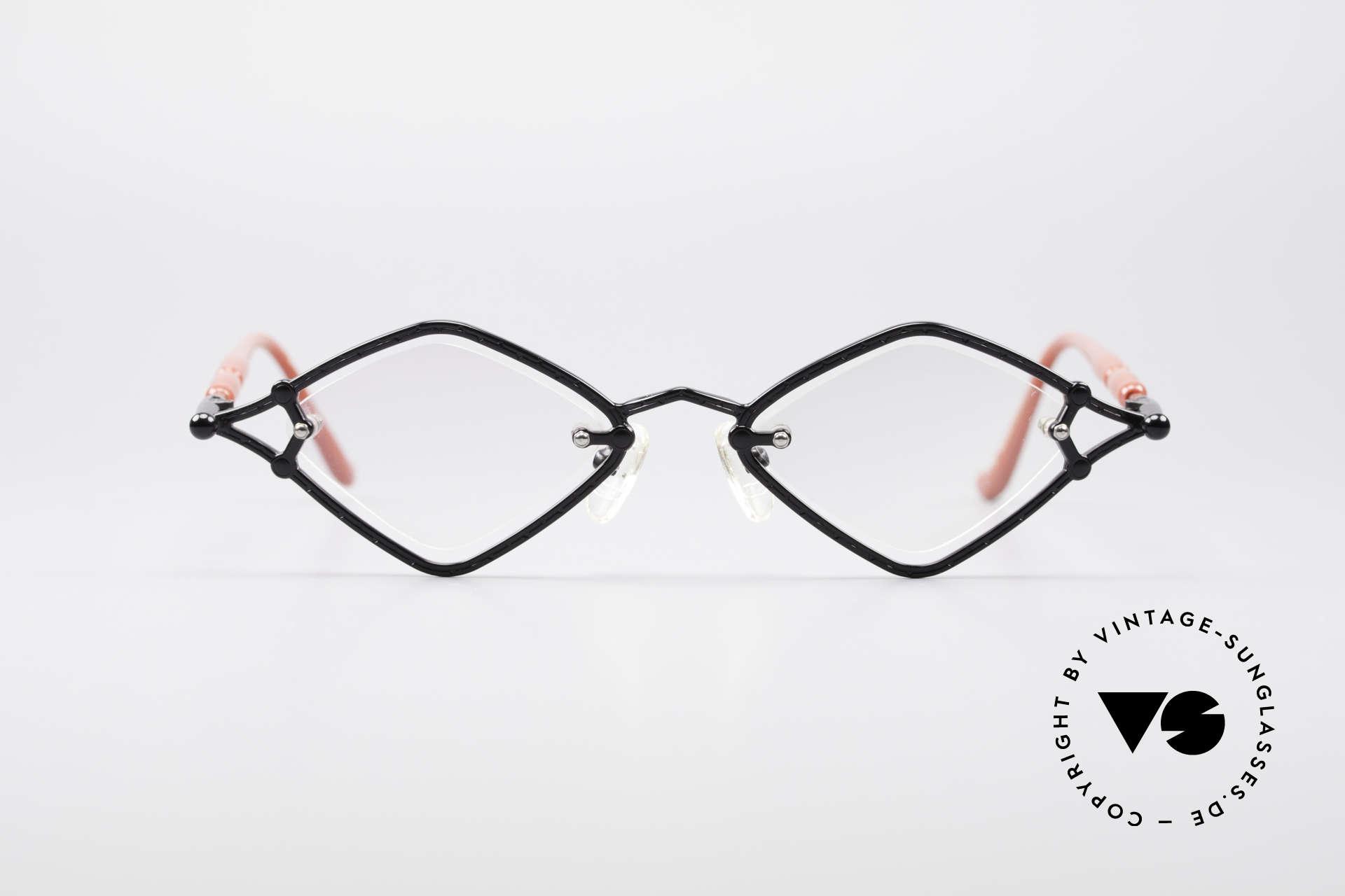 9d8e554ba Glasses Jean Paul Gaultier 56-7203 Angled 90's Designer Frame ...