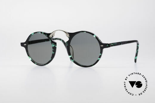 Jean Paul Gaultier 57-0271 Customized Cartier Lenses Details