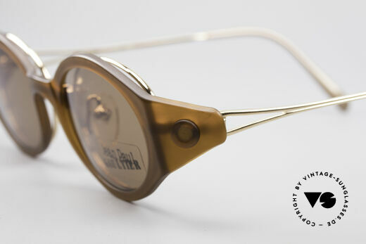 Jean Paul Gaultier 56-7202 Oval Frame With Sun Clip