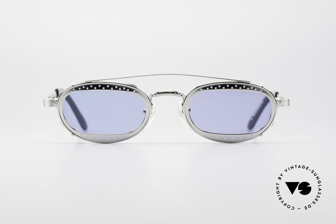 Jean Paul Gaultier 56-7116 Limited Vintage Glasses, no. 5173 of 7000 (only 7000 pcs available, worldwilde), Made for Men and Women