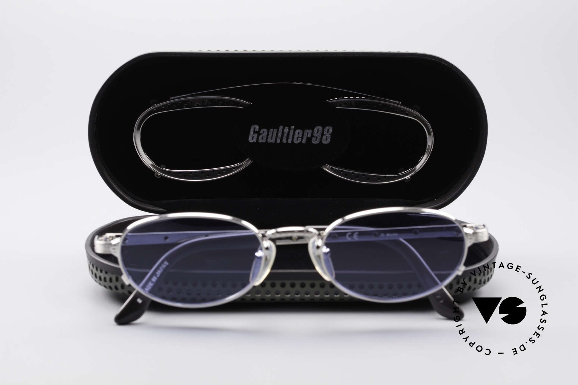 Jean Paul Gaultier 56-7116 Limited Vintage Glasses, new old stock, unworn, NOS (precious collector's item), Made for Men and Women