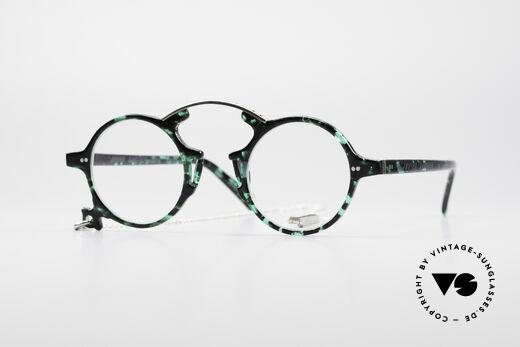 Jean Paul Gaultier 58-0271 90's Steampunk Eyeglasses Details