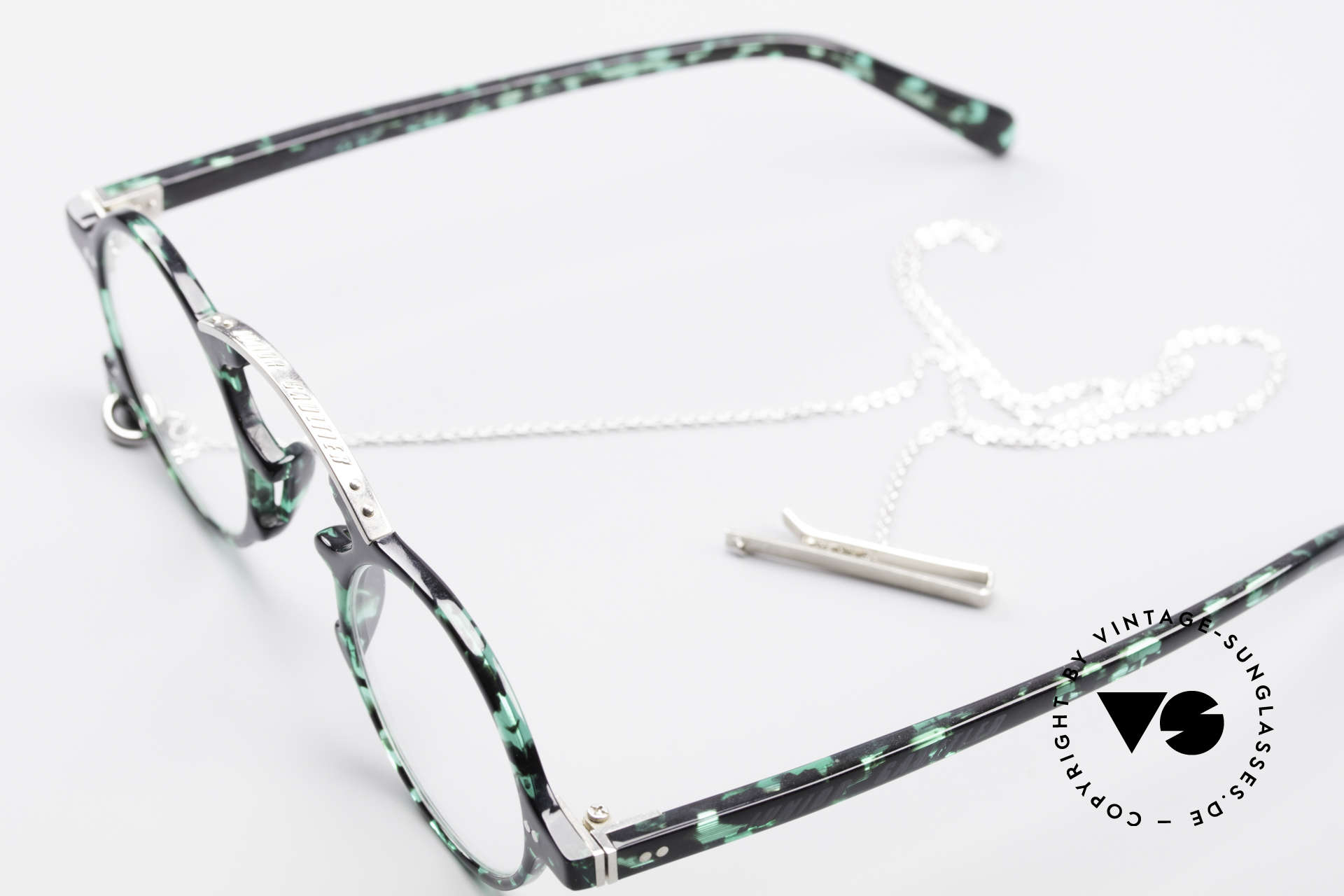 Jean Paul Gaultier 58-0271 90's Steampunk Eyeglasses, NO retro frame, but a Gaultier Original from '95, Made for Men and Women