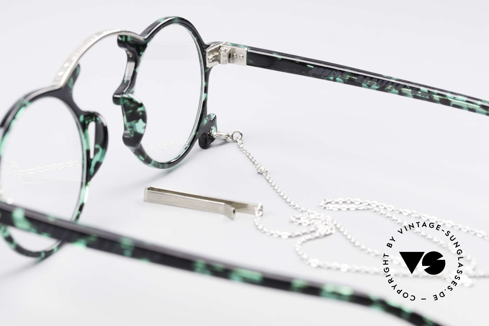 Jean Paul Gaultier 58-0271 90's Steampunk Eyeglasses, Size: small, Made for Men and Women