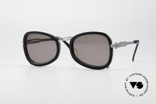 Jean Paul Gaultier 56-1271 Steampunk 90's Sunglasses Details