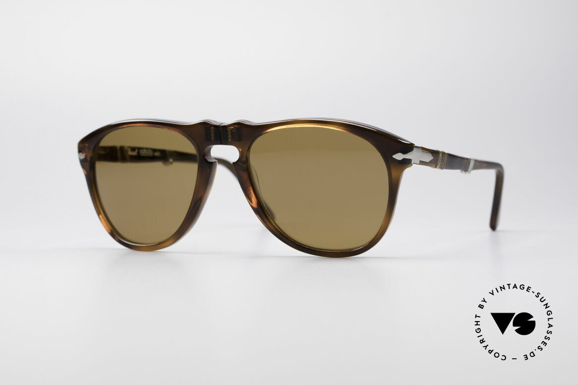 Persol Ratti 806 Folding Vintage Foldable Shades, Persol 806 RATTI = legendary 70's folding sunglasses, Made for Men