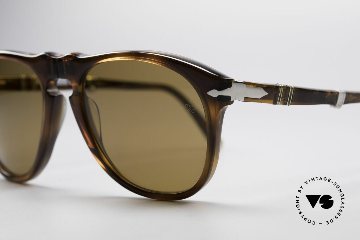 Persol Ratti 806 Folding Vintage Foldable Shades, orig. mineral lenses with the famous Persol engraving, Made for Men