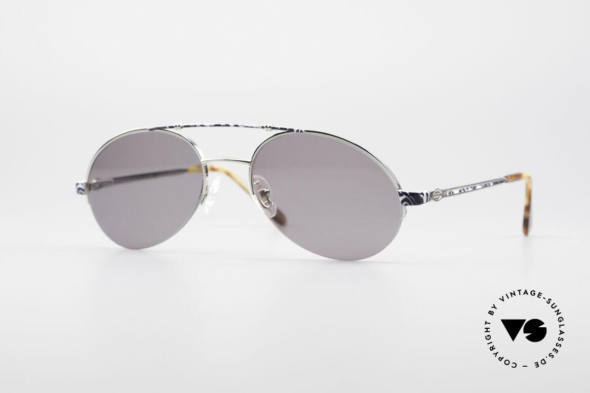 Bugatti 14651 Men's Vintage 90's Shades, dressy vintage sunglasses by BUGATTI from 1995/96, Made for Men