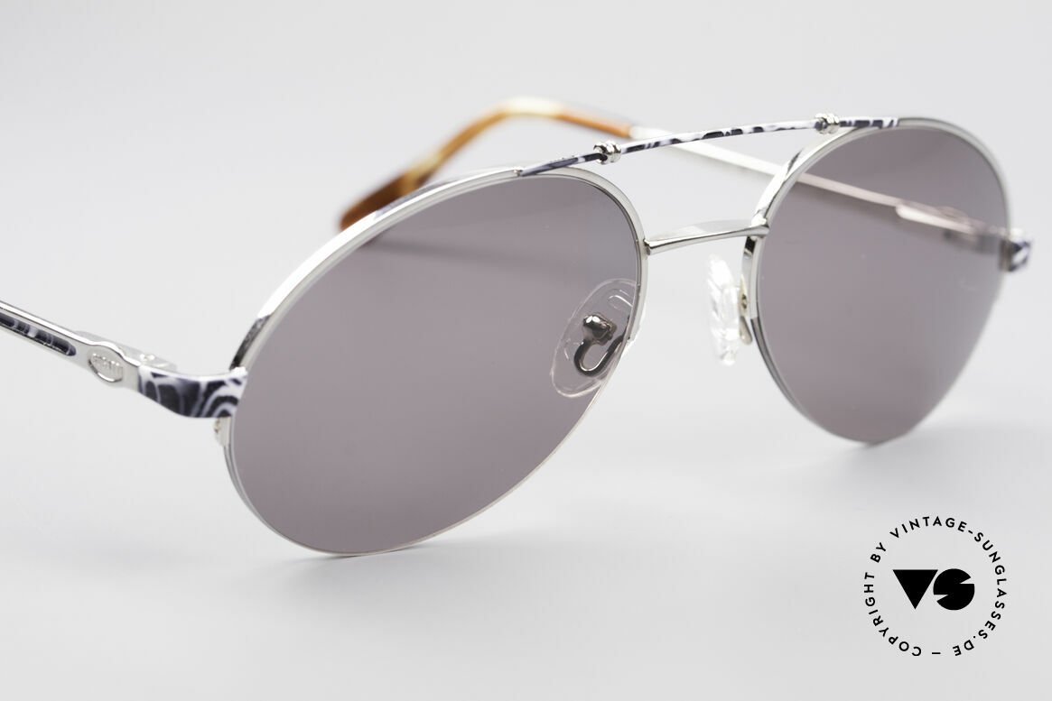 Bugatti 14651 Men's Vintage 90's Shades, unworn (like all our vintage 1990s Bugatti sunglasses), Made for Men