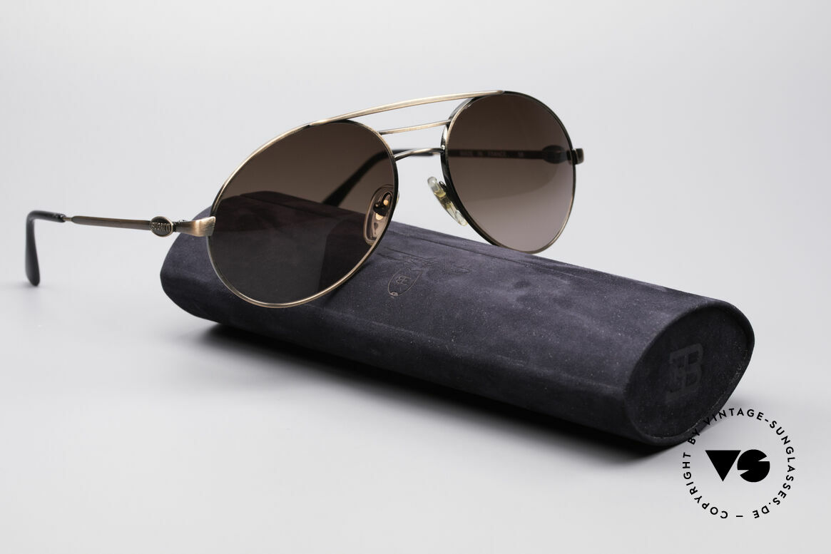 Bugatti 65090 Men's 80's Designer Shades