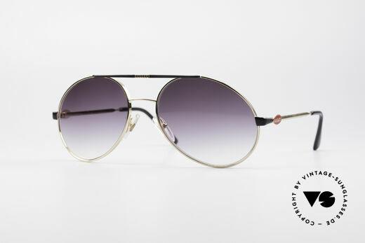Bugatti 65837 80's Designer Sunglasses Details