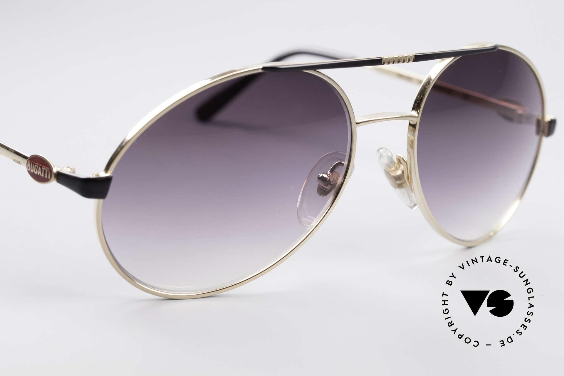 Bugatti 65837 80's Designer Sunglasses, an unworn 80's classic (with original Bugatti hard case), Made for Men