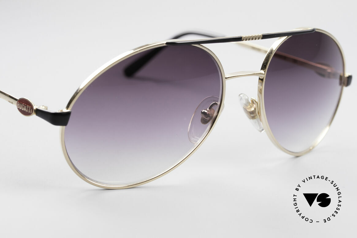 Bugatti 65837 80's Designer Sunglasses