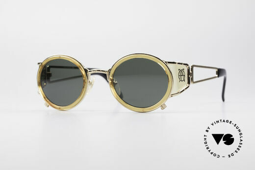 Jean Paul Gaultier 58-6201 Steampunk Vintage Shades Details