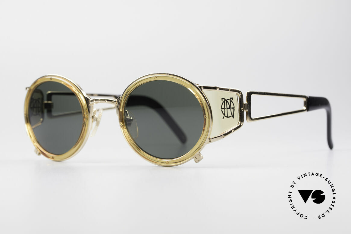 Jean Paul Gaultier 58-6201 Steampunk Vintage Shades