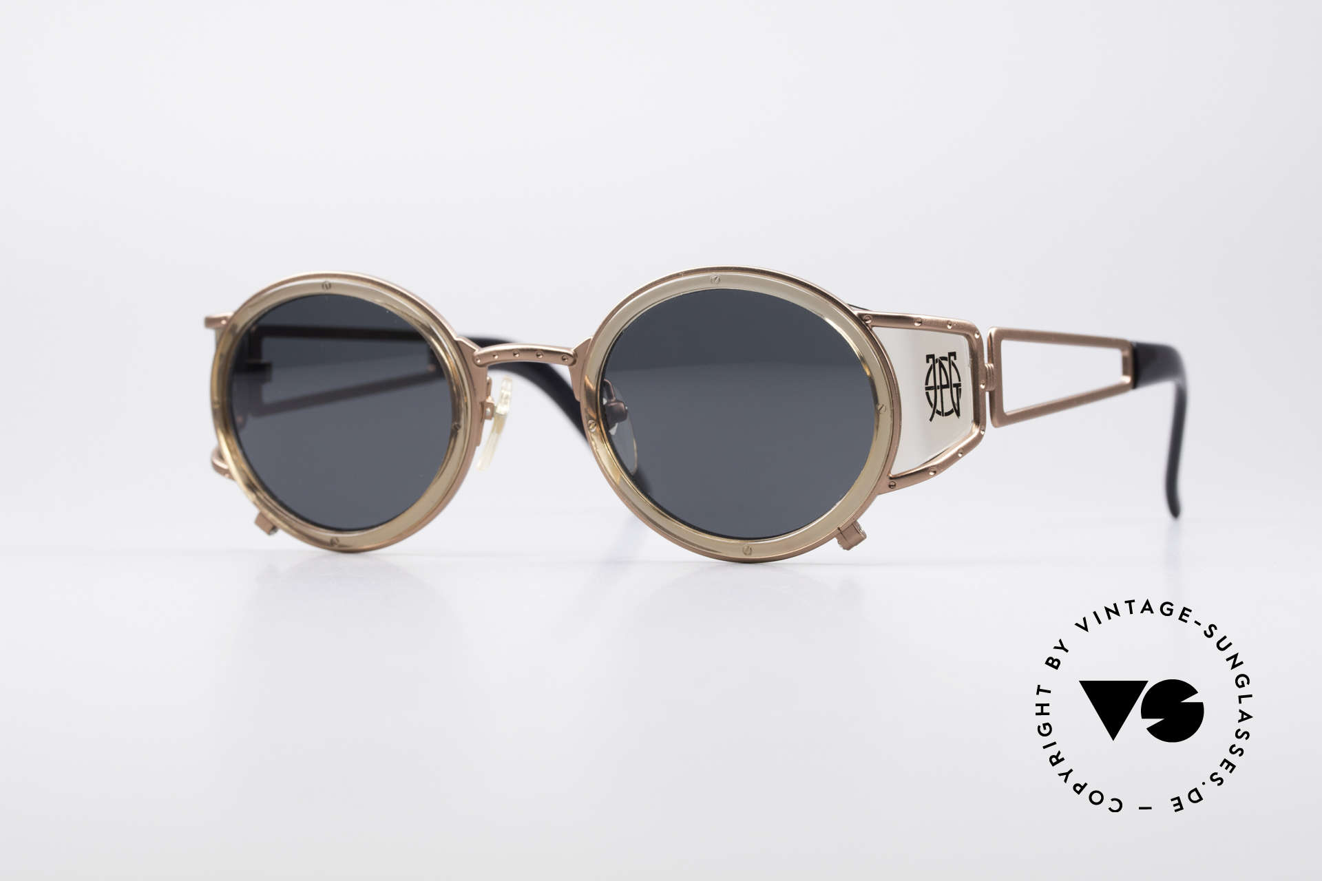 Jean Paul Gaultier 58-6201 Vintage Celebrity Glasses, outstanding designer shades by Jean Paul GAULTIER, Made for Men and Women
