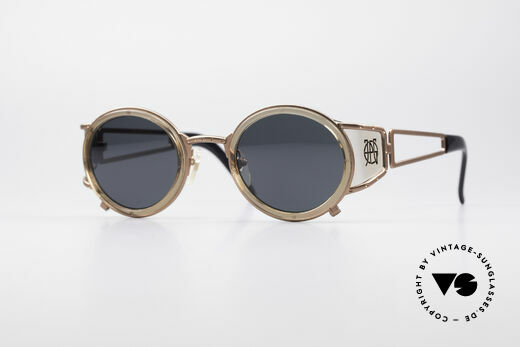 Jean Paul Gaultier 58-6201 Vintage Celebrity Glasses Details