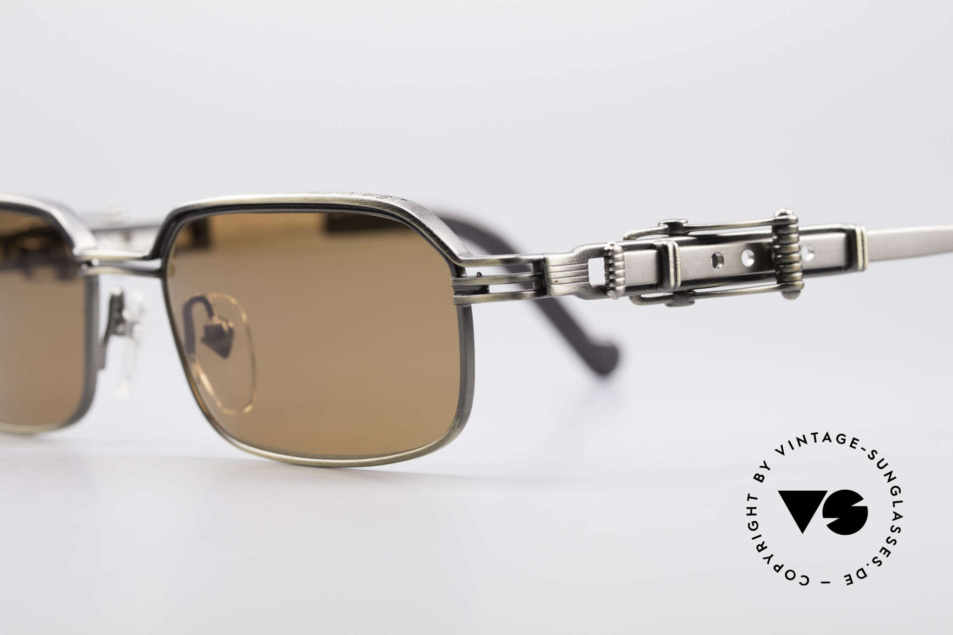 Jean Paul Gaultier 56-0002 Adjustable Frame Belt Buckle, unworn designer piece (precious, rare, treasured), Made for Men