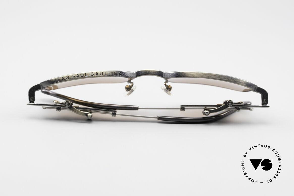 Jean Paul Gaultier 56-0002 Adjustable Frame Belt Buckle, Size: medium, Made for Men