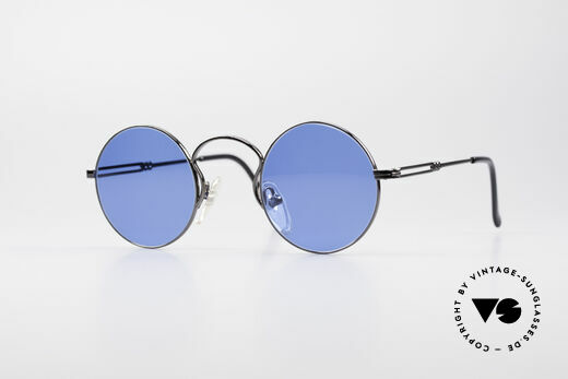 Jean Paul Gaultier 55-0172 Round 90's Sunglasses Details