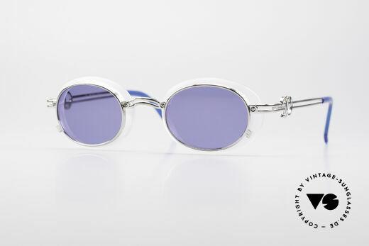 Jean Paul Gaultier 58-5201 Rare Steampunk Sunglasses Details