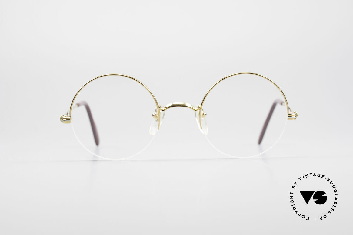 Cartier Mayfair Luxury Round Eyeglasses