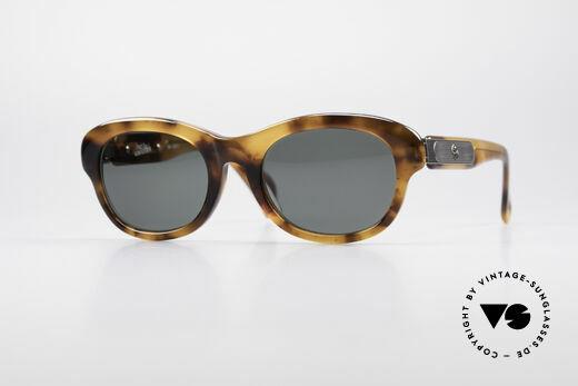 Jean Paul Gaultier 56-2071 No Retro True Vintage Frame Details