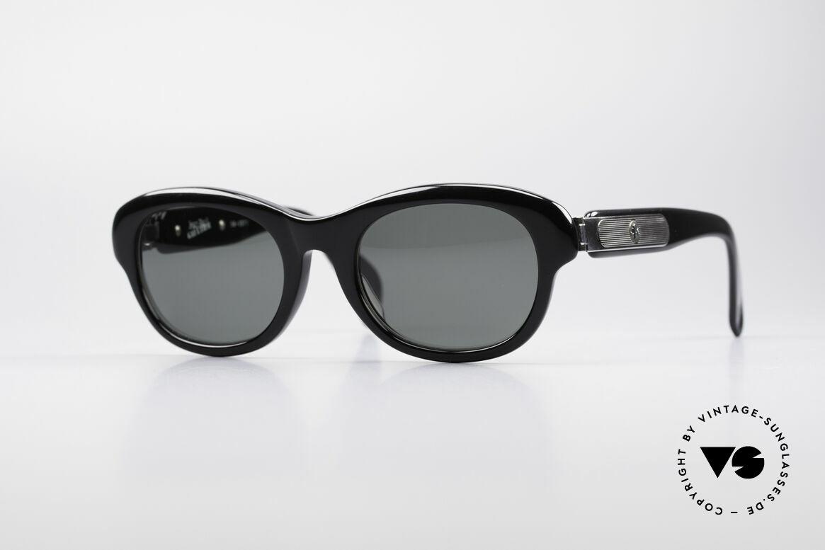 Jean Paul Gaultier 56-2071 No Retro True Vintage Specs, rare vintage Jean Paul Gaultier sunglasses from 1995, Made for Women