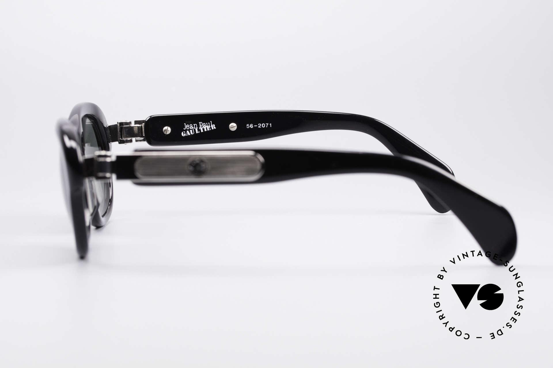 Jean Paul Gaultier 56-2071 No Retro True Vintage Specs, NO RETRO GLASSES, but a genuine old 90's ORIGINAL, Made for Women