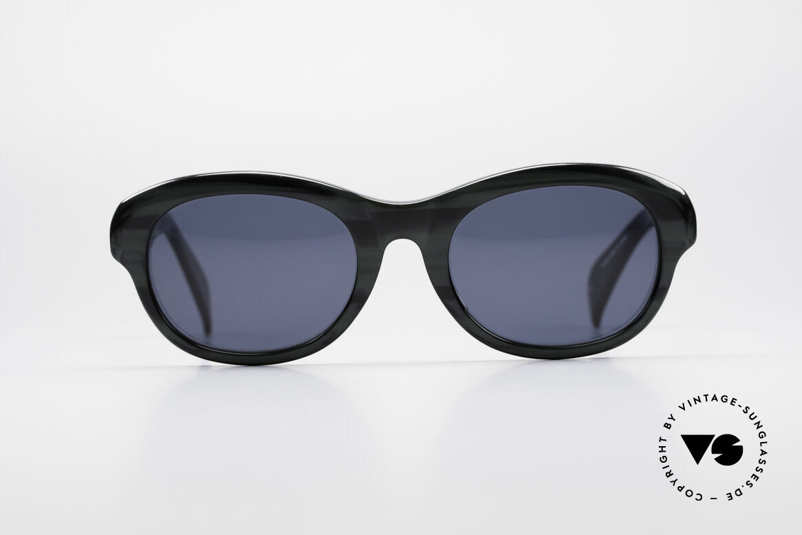 Jean Paul Gaultier 56-2071 True Vintage No Retro Specs, brilliant combination of materials; high-end quality, Made for Women