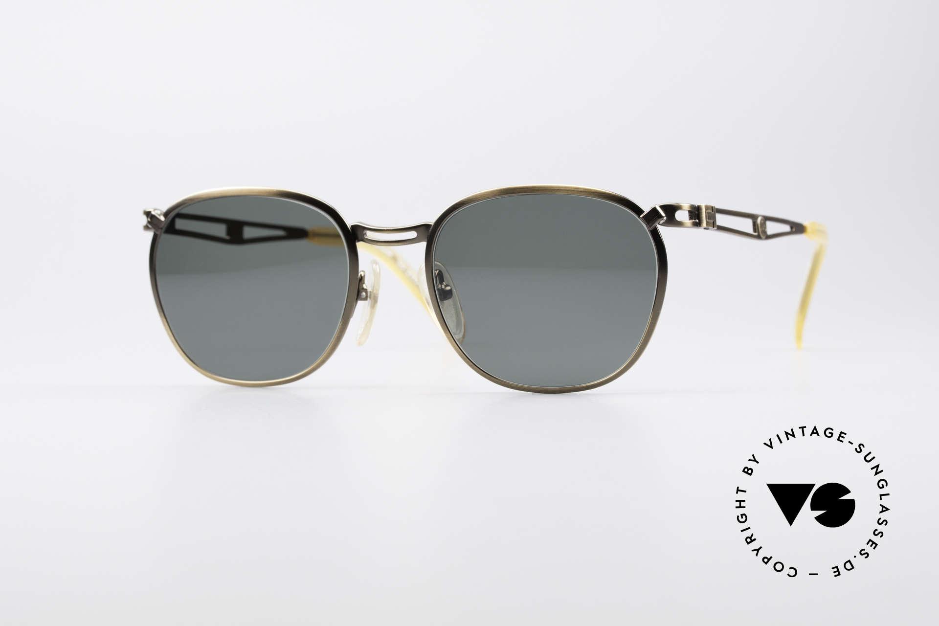 Jean Paul Gaultier 56-2177 90's Designer Sunglasses, 1990's designer sunglasses by Jean Paul Gaultier, Made for Men and Women