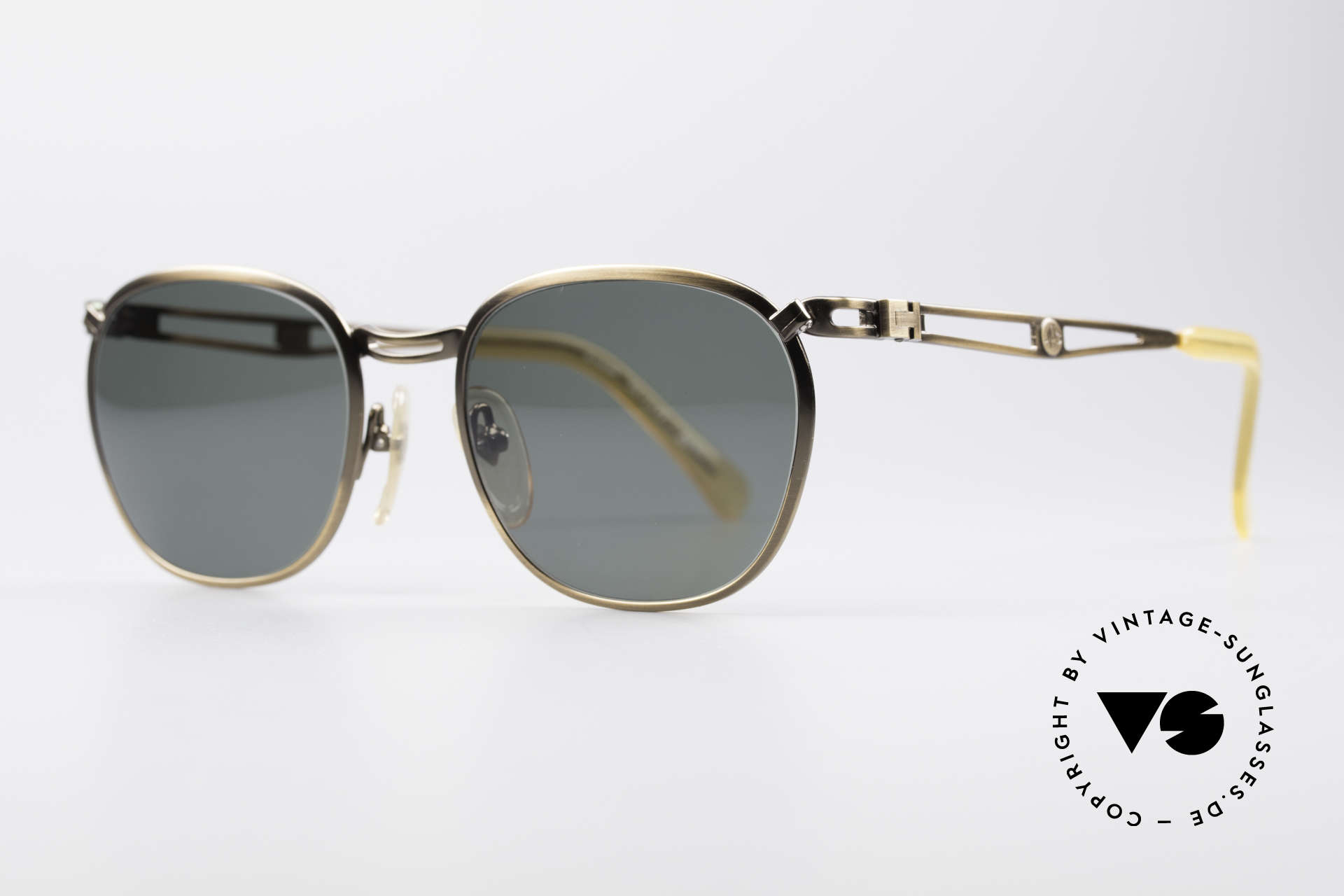 Jean Paul Gaultier 56-2177 90's Designer Sunglasses, but high-end quality (monolithic), typically JPG!, Made for Men and Women