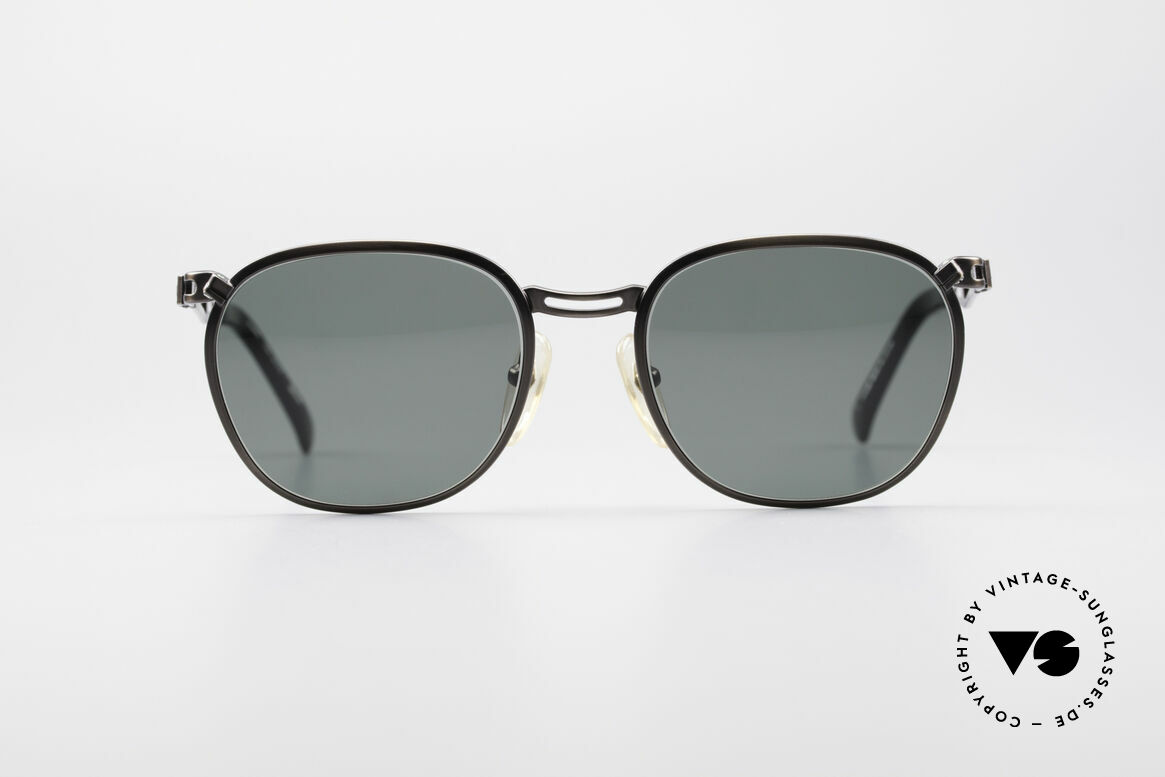 Jean Paul Gaultier 56-2177 Rare Designer Sunglasses, unusual discreet design by eccentric J.P. Gaultier, Made for Men and Women