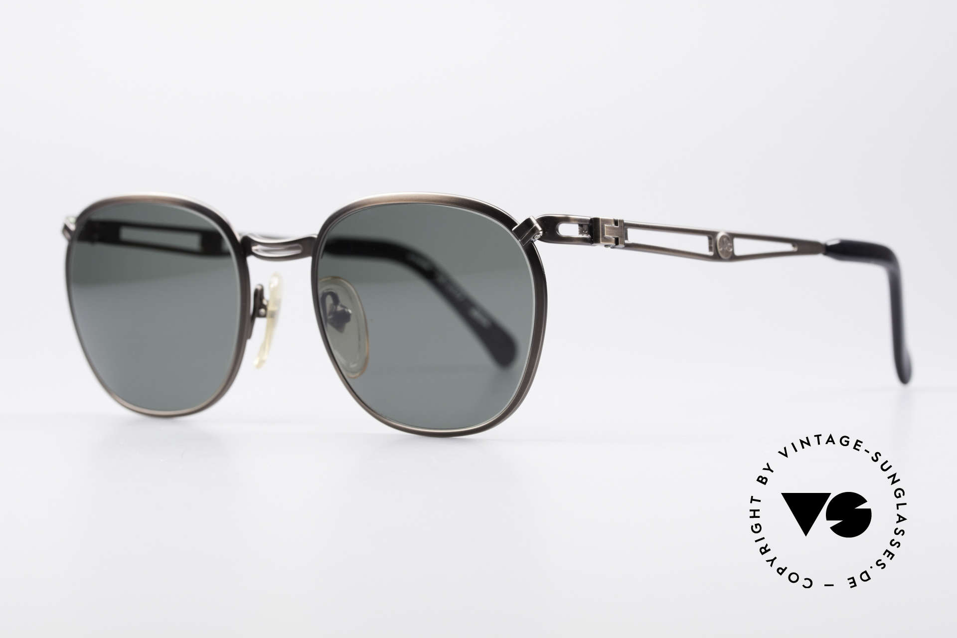 Jean Paul Gaultier 56-2177 Rare Designer Sunglasses, but high-end quality (monolithic), typically JPG!, Made for Men and Women