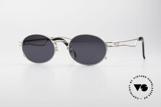 Jean Paul Gaultier 56-3173 Oval Designer Sunglasses Details