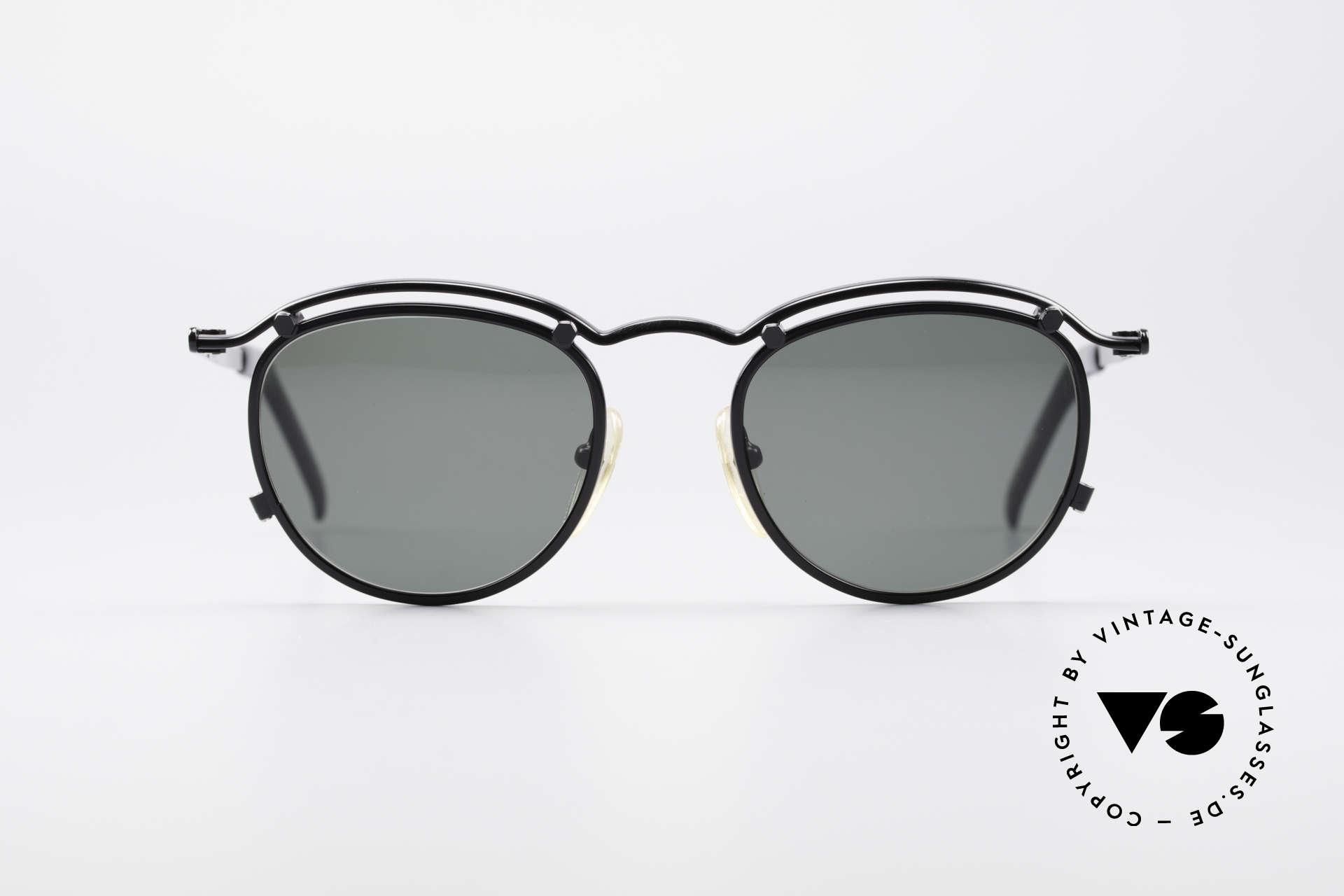 Jean Paul Gaultier 56-1174 Steampunk Panto Glasses, unique modified 'panto style' à la STEAMPUNK genre, Made for Men and Women