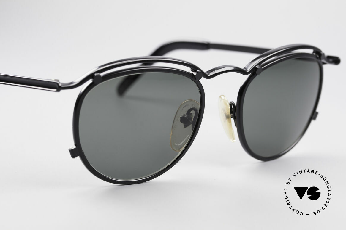 Jean Paul Gaultier 56-1174 Steampunk Panto Glasses, NO RETRO shades, but an authentic old 90s Original!, Made for Men and Women