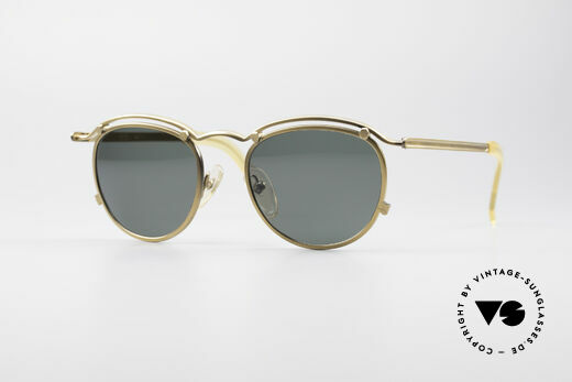 Jean Paul Gaultier 56-1174 Steampunk Panto Shades Details