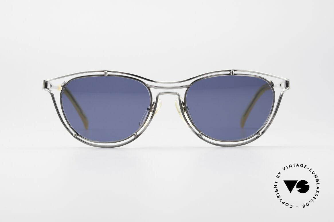 Jean Paul Gaultier 56-2176 True Designer Sunglasses, brilliant frame construction; a true eye-catcher!, Made for Men and Women