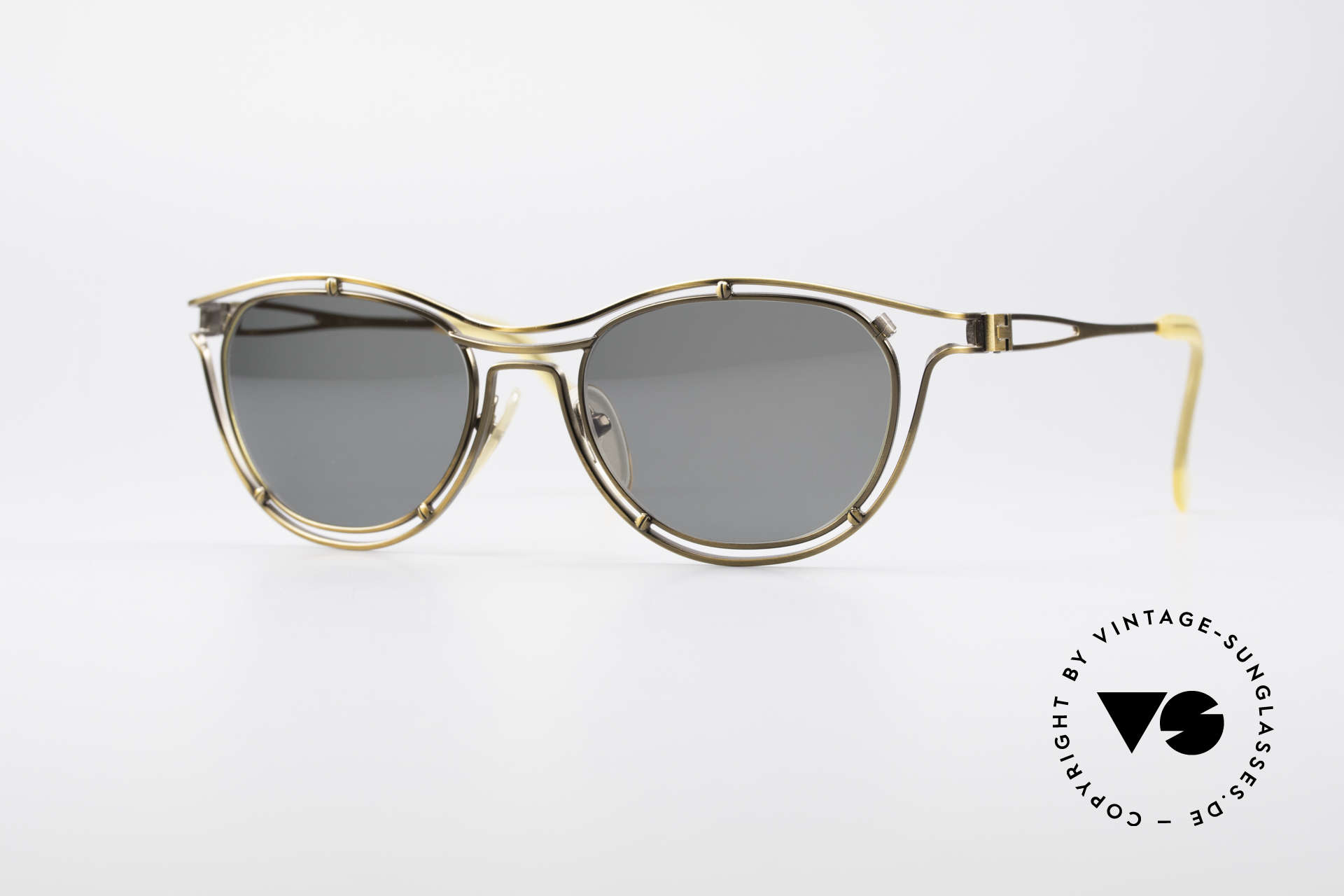 Jean Paul Gaultier 56-2176 Rare Designer Sunglasses, spectacular Jean Paul GAULTIER designer shades, Made for Men and Women