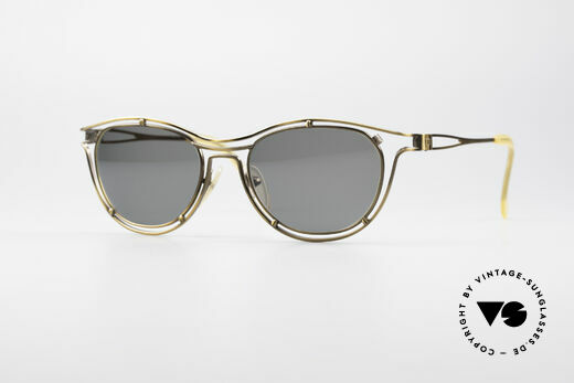 Jean Paul Gaultier 56-2176 Rare Designer Sunglasses Details