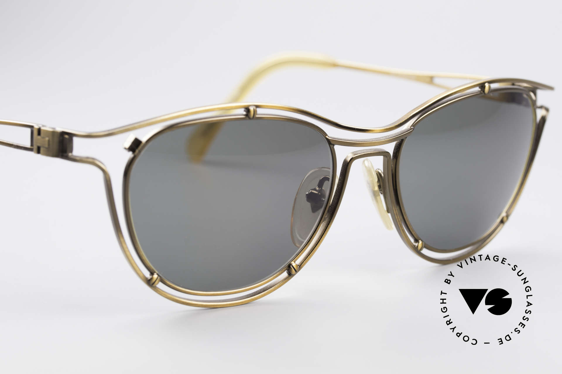 Jean Paul Gaultier 56-2176 Rare Designer Sunglasses, unworn (like all our old 90's designer sunglasses), Made for Men and Women