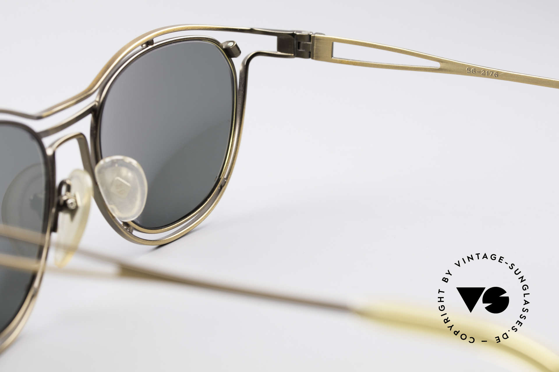 Jean Paul Gaultier 56-2176 Rare Designer Sunglasses, NO RETRO SHADES; but a great original from 1994, Made for Men and Women