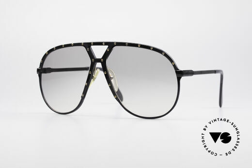 Alpina M1 80's Stevie Wonder Glasses Details