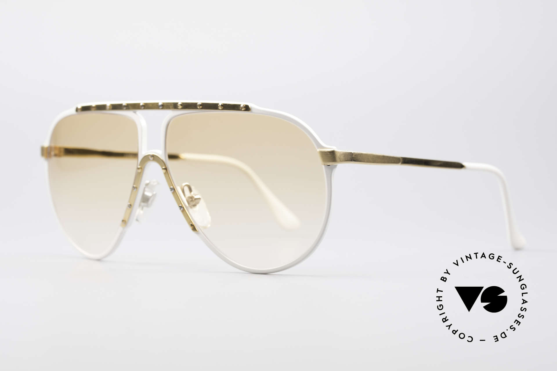Alpina M1 Iconic 80's Sunglasses, top quality (handmade in W.Germany) + Versace case, Made for Men and Women
