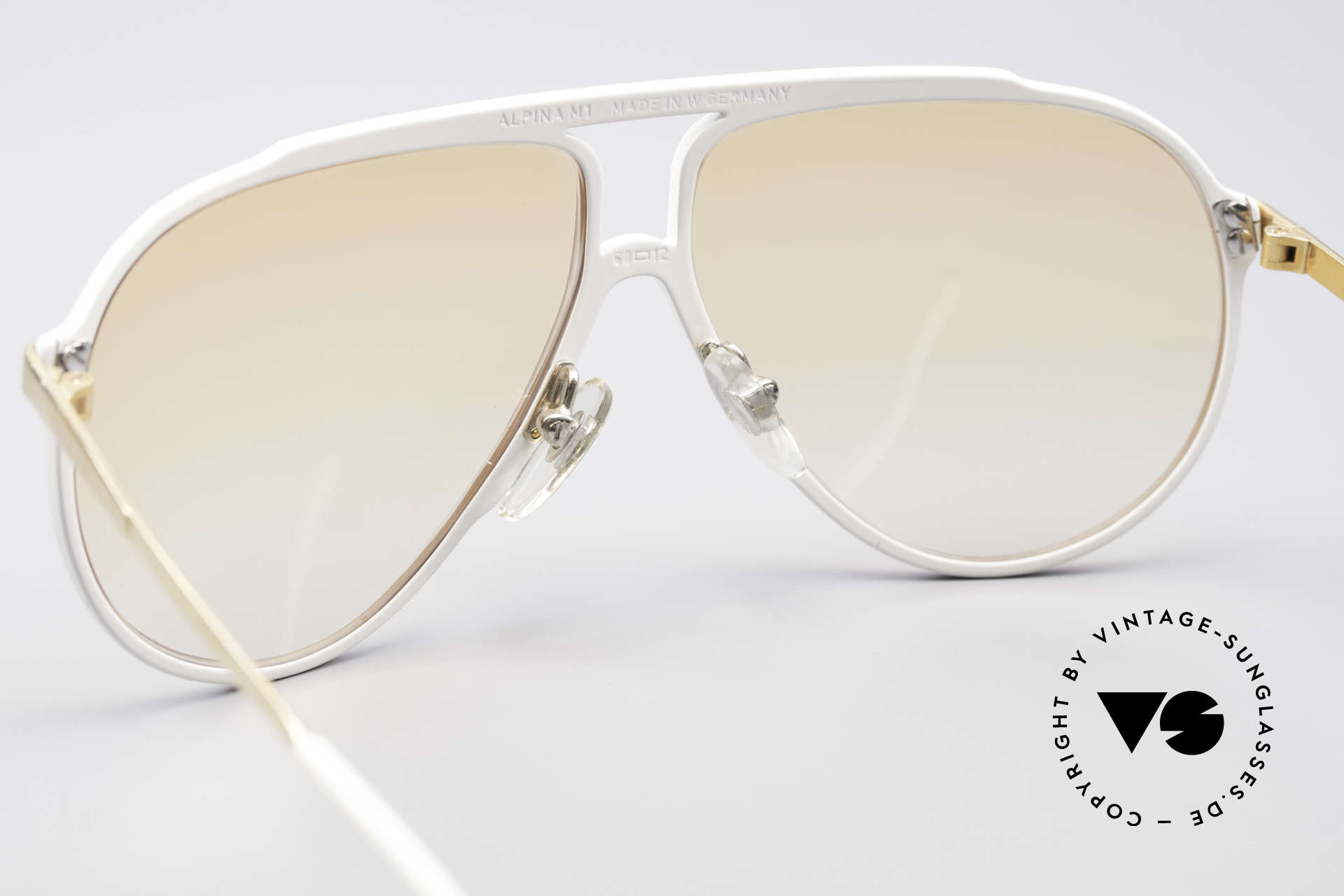 Alpina M1 Iconic 80's Sunglasses, 2nd hand model, but in an absolutely mint condition, Made for Men and Women