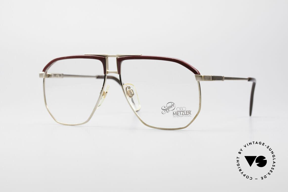 Metzler 0788 True Vintage 80's Glasses, vintage Metzler eyeglasses in unbelievable top-quality, Made for Men