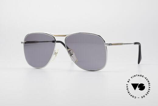 Metzler 0871 Rare 80's Men's Sunglasses Details