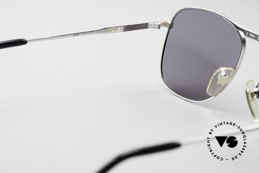 Metzler 0871 Rare 80's Men's Sunglasses, gray sun lenses can be replaced with prescriptions, Made for Men